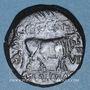 Coins Celtibérie. Turiaso. Monnayage au nom de C Caec Sere M Val Quad llviri. Bronze
