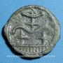 Coins Durocasses. Région de Dreux. Potin, 1er siècle av. J-C