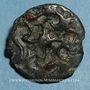 Coins Durocasses. Région de Dreux. Potin au svastika, vers 50-30 av. J-C