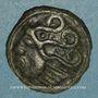 Coins Durocasses. Région de Dreux. Potin au type de Bû, vers 80-50 av. J-C
