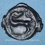 Coins Gaule. Bassin Parisien. Potin à l'Y, 1er siècle av. J-C