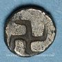 Coins Gaule. Provence. Hémiobole au coléoptère, vers 460-450 av. J-C