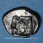 Coins Gaule. Provence (vers 525-475 av. J-C). Obole à l'hippalectryon à droite