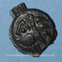 Coins Leuques. Région de Toul. 2e moitié du 1er siècle av. J-C. Potin, classe Ic avec sanglier à gauche