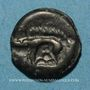 Coins Leuques (région de Toul) (fin du 2e siècle - 1ère moitié du 1er siècle av. J-C). Potin, classe II