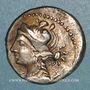 Coins Marseille (125-90 av. J-C). Drachme