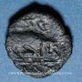 Coins Marseille (150-100 av. J-C). Très petit bronze au taureau
