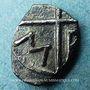 Coins Marseille (220-150 av. J-C). Obole à l'Apollon sans favoris