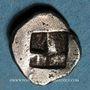 Coins Marseille (500-470 av. J-C). Obole milésiaque à la tête de bélier