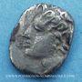 Coins Marseille. Obole à l'Apollon sans favoris, 220-150 av. J-C