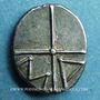 Coins Marseille. Obole signée TTAP, 220-150 av. J-C