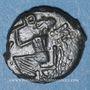 Coins Médiomatrices. Région de Metz. Bronze à la Victoire, vers 60-25 av. J-C