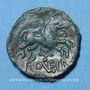 Coins Meldes. Région de Meaux - Roveca. Bronze classe III var 5b, vers 60-30 av. J-C