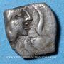 Coins Narbonne. Obole au cheval retourné, 200-150 av. J-C