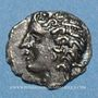 Coins Nemausus. Nîmes. Obole, vers 75-25 av. J-C. Inédit !