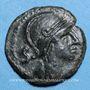 Coins Nemausus (Nîmes) (vers 60-40 av. J-C). Bronze