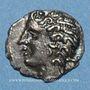 Coins Nemausus (Nîmes) (vers 75-25 av. J-C). Obole. Inédit !