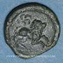 Coins Pictones (région de Poitiers)-Santones (région centre-ouest) - Vrido Ruf. Bronze (vers 50/25 av. J-C