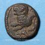 Coins Rémi. Région de Reims. Atisios Remos. Bronze classe II, vers 60-30 av. J-C