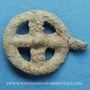 Coins Rouelle celte en plomb