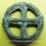 Coins Rouelle celte, potin, 15 mm