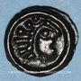Coins Sénones. Région de Sens. Potin, 1er siècle av. J-C
