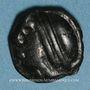 Coins Séquanes. Région de Besançon. Fin du 2e siècle et 1er tiers du 1er siècle av. J-C. Potin