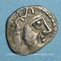 Coins Séquanes. Région de Besançon. Obole, vers 80-50 av. J-C. R ! R ! R !