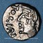 Coins Séquanes (région de Besançon) - Togirix (2e tiers du 1er siècle av. J-C). Denier