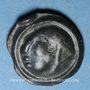 Coins Séquanes. Région de Besançon - Togirix. Potin, vers 80-50 av. J-C