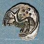 Coins Transpadane. Insubres. Région de Milan. Diobole,  2e - 1er siècle av. J-C