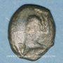 Coins Véliocasses. Région de Rouen. Bronze au personnage courant classe I, vers 60-30/25 av. J-C