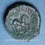 Coins Véliocasses. Région de Rouen - Suticcos. Bronze au cheval, vers 60-30/25 av. J-C