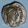 Coins Véliocasses. Région de Rouen - Suticcos. Bronze au taureau, vers 60-30/25 av. J-C