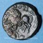 Coins Véromanduens. Région du Vermandois - Sollos. Bronze, vers 60-30/25 av. J-C