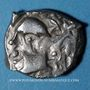 Coins Volques Tectosages, drachme à la tête cubiste