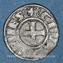 Coins Orient Latin Duché d'Athènes Guillaume I de la Roche (1280-87) ou Guy II de la Roche (1287-94)denier