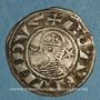 Coins Orient Latin. Principauté d'Antioche. Bohémond III, pendant sa majorité (1163-1201). Denier Antioche