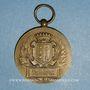 Coins Fête Fédérale de sauvetage. Aubervilliers. 1931. Médaille bronze