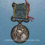 Coins Grande Bretagne. Médaille de Crimée avec agrafe Sébastopol. Signée Wyon