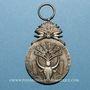 Coins Madagascar. Ordre du mérite malgache. Médaille d'argent
