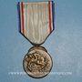 Coins Médaille de la Reconnaissance Française. 1er type (1917). Médaille de bronze