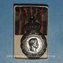 Coins Médaille de Sainte-Hélène (1857). Dans sa boîte d'origine en carton