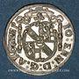 Coins Autriche. Archevêché de Salzbourg. Jean Ernest (1687-1709). Kreuzer 1695