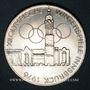 Coins Autriche. République. 100 schilling (1975) Immeuble et anneaux olympiques - Aigle