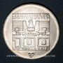 Coins Autriche. République. 100 schilling (1975). Jeux olympiques d'hiver d'Innsbruck. Skieur - Ecusson