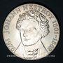 Coins Autriche. République. 100 schilling 1976. Jean Nestroy