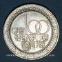 Coins Autriche. République. 100 schilling 1977. 50e anniversaire de l'atelier de Hall