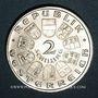 Coins Autriche. République. 2 schilling 1928. Schubert