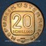 Coins Autriche. République. 20 schilling 1982. Joseph Haydn